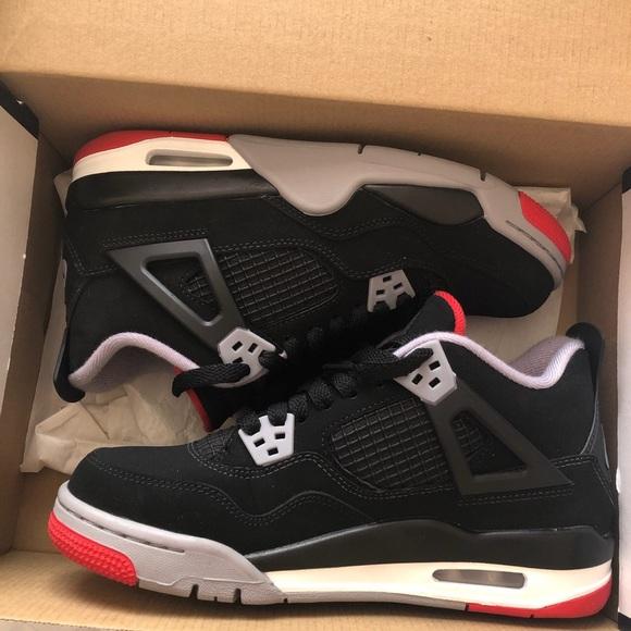 Jordan Shoes   Air Jordan Bred 4s Gs 29